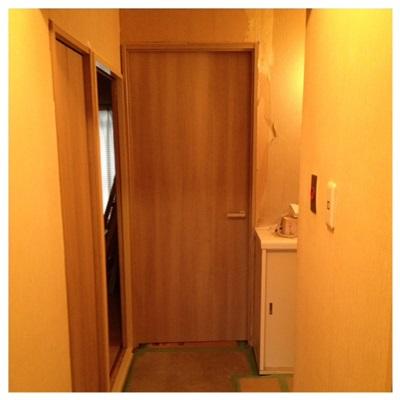 洋室ドア&納戸