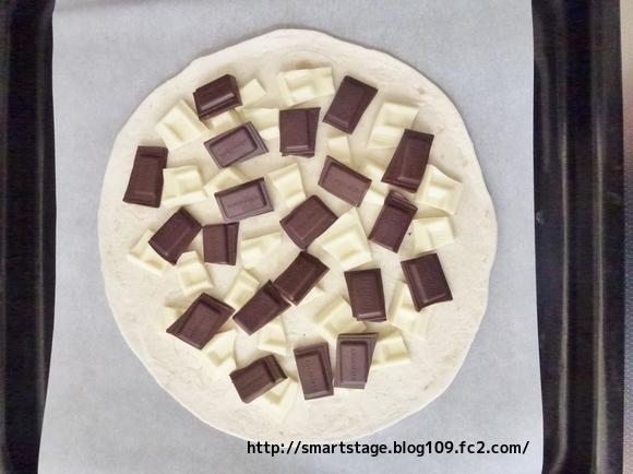 マックスブレナー風チョコピザ3