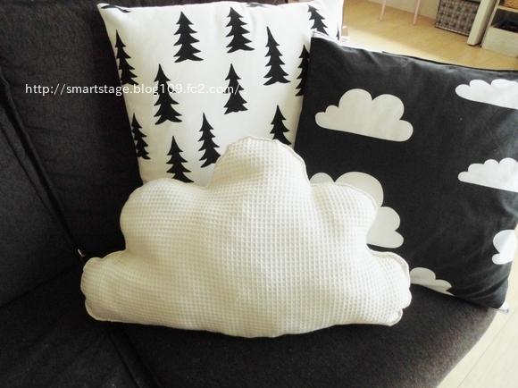雲 クッション2