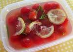 ミニトマトのレモン漬け