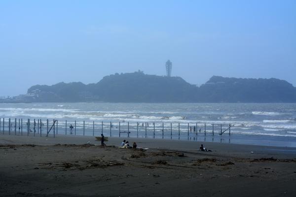 荒れた海で・・・