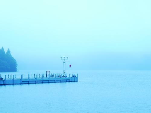 霧の芦ノ湖3