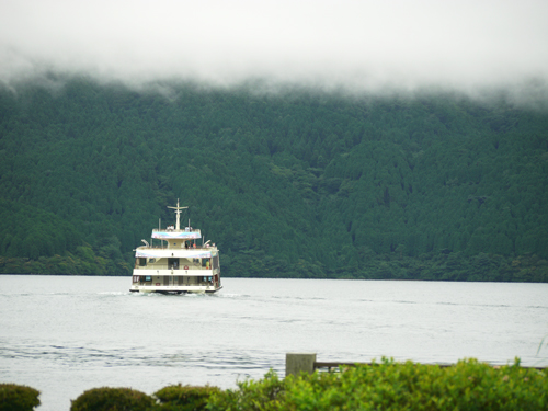 霧の芦ノ湖2