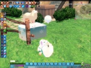 羊にもいじめられる