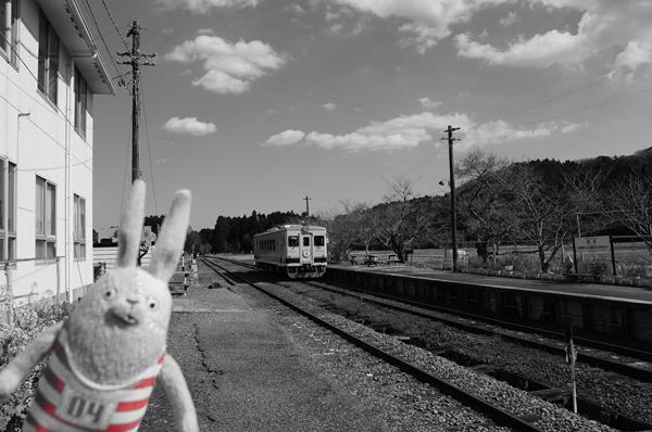 電車(モノクロ)