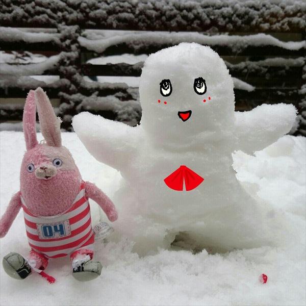 雪ふなっしー