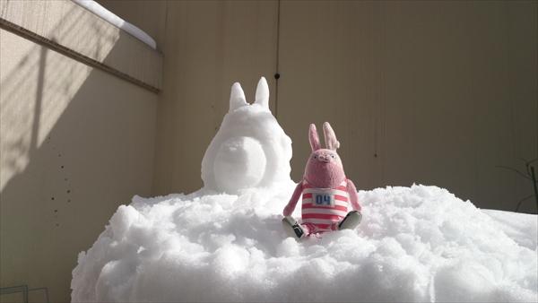 雪トトロ6