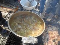 3月23日 北峰・蕎麦米汁