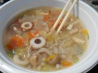 3月23日 北峰・蕎麦米汁②