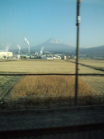 新幹線からの富士山~♪