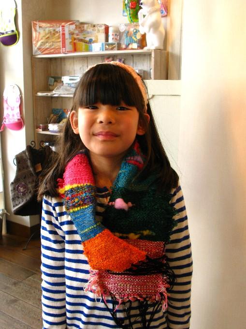 2014-8さをり織り体験