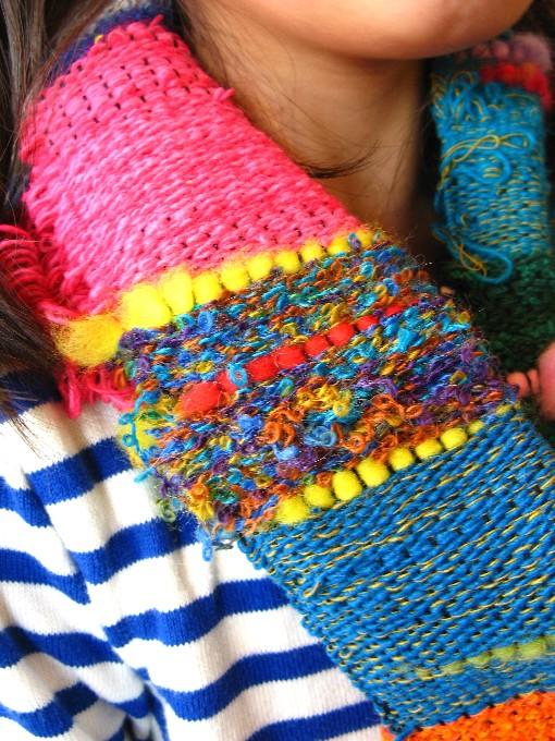2014-9さをり織り体験