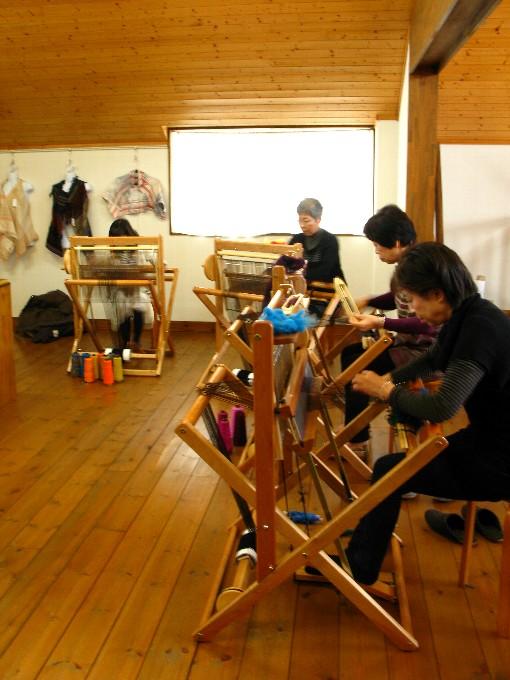 2014-12さをり織り体験