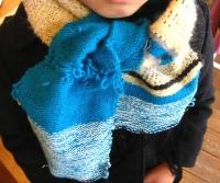 2014-15さをり織り体験