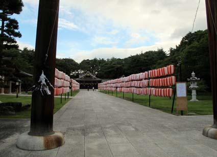 平成24年8月15日 護国神社