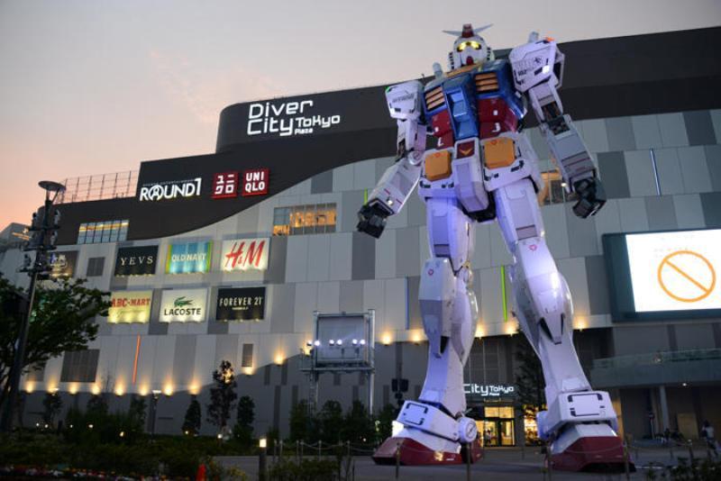 ストリートワイズ 神奈川 LRG エルアールジー 世界初 台場 ガンダム ダイバーシティ