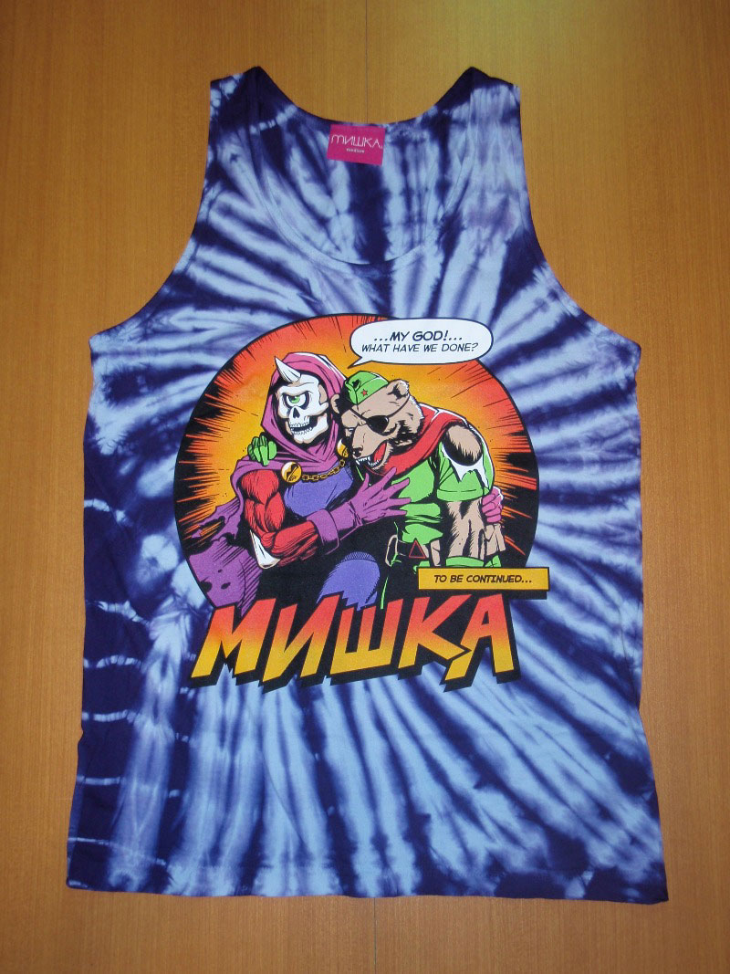 2014 Mishka Summer TankTop STREETWISE ストリートワイズ タンクトップ 神奈川 藤沢 湘南 スケート ファッション ストリートファッション ストリートブランド