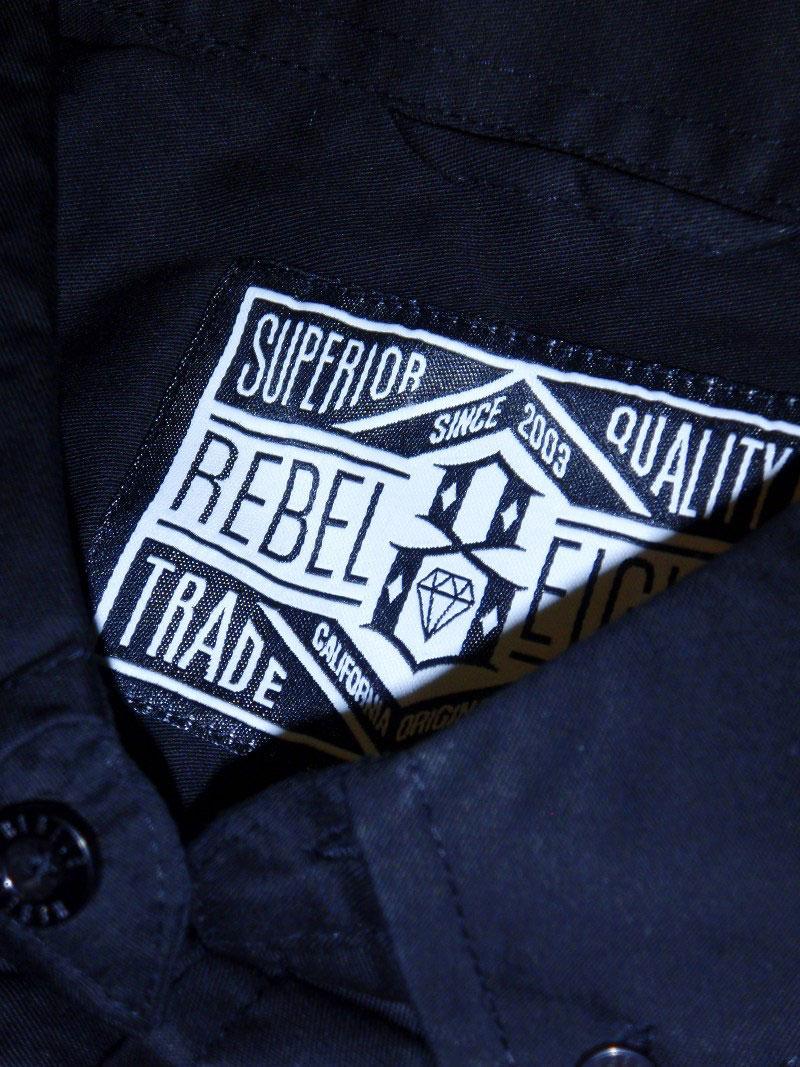 2014 REBEL8 Fall Button Up Shirt STREETWISE ストリートワイズ シャツ 神奈川 藤沢 湘南 スケート ファッション ストリートファッション ストリートブランド