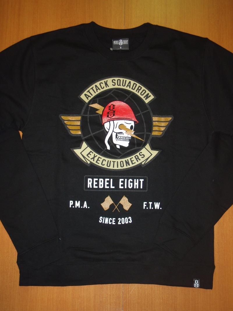 2014 REBEL8 Fall CrewNeck MikeGiant STREETWISE ストリートワイズ クルーネック 神奈川 藤沢 湘南 スケート ファッション ストリートファッション ストリートブランド