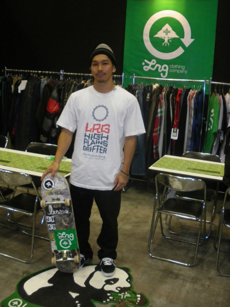 LRG ダイバーシティー スケート Skate デモ 台場