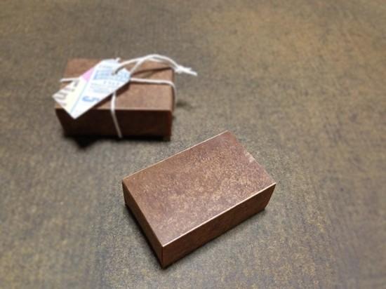 ロウ引きマッチ箱