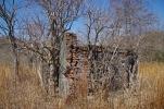 レンガの小屋
