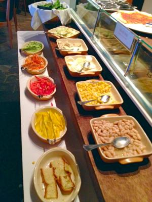 Capricci lunch buffet