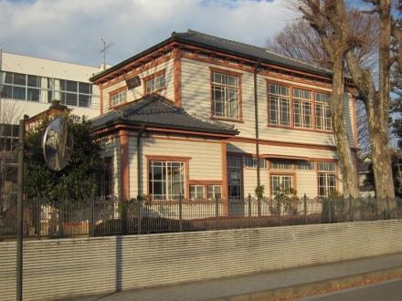 県立栃木高校記念図書館①