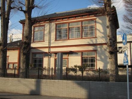 県立栃木高校記念図書館②