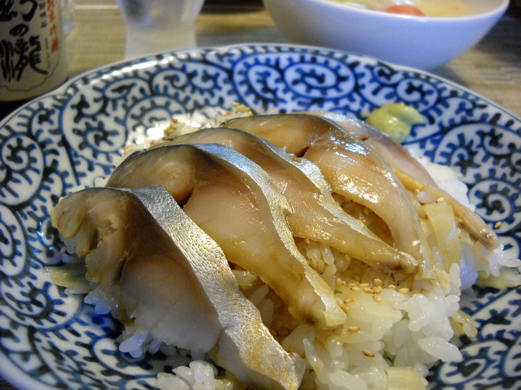 しめ鯖のっけ寿司