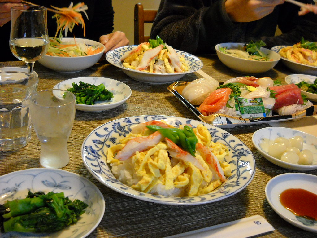 男のちらし寿司2