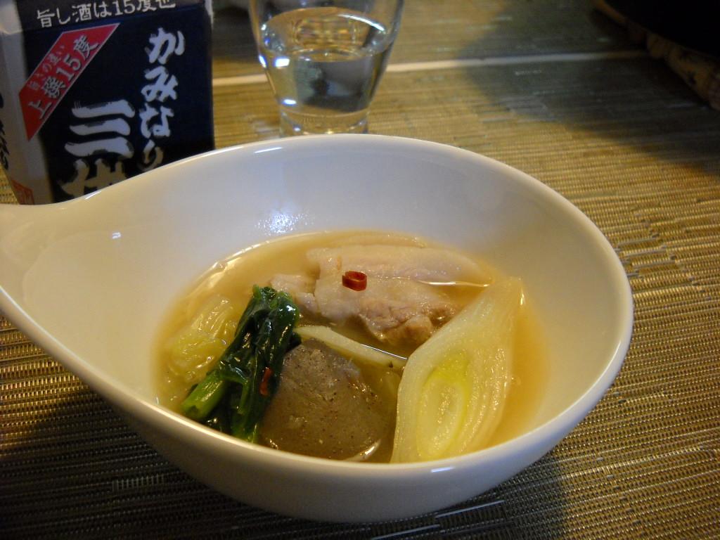 味噌ぶた鍋2