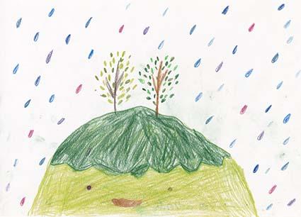 鰢『雨ふりの丘』