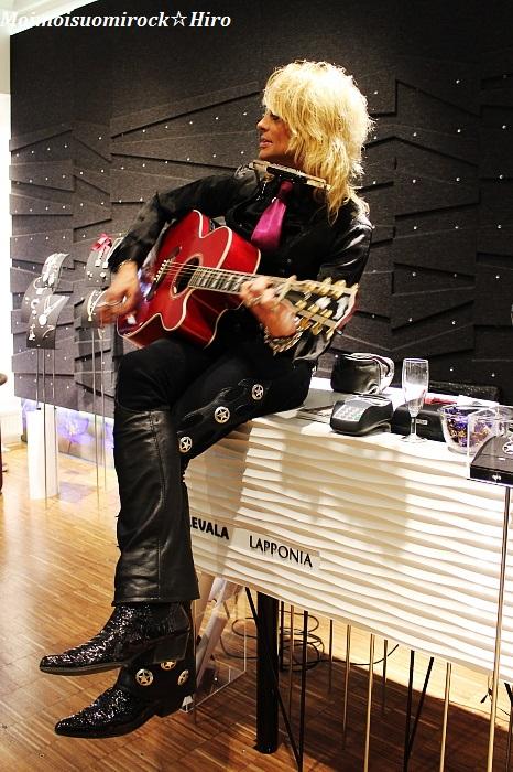 Michael Monroe Kalevala koru 08.04.2014