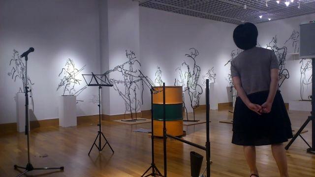 企画展「スイングする鉄筋彫刻part2」@楽器博物館2