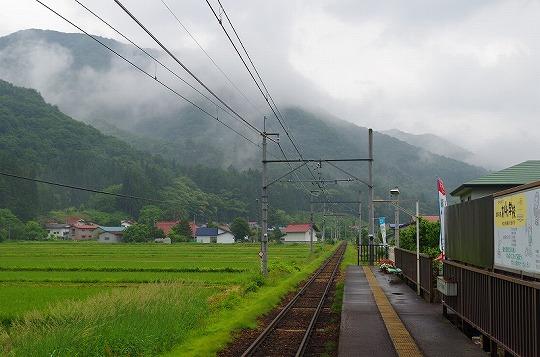 会津山村道場駅 3