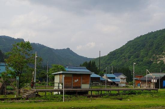 会津越川駅 1