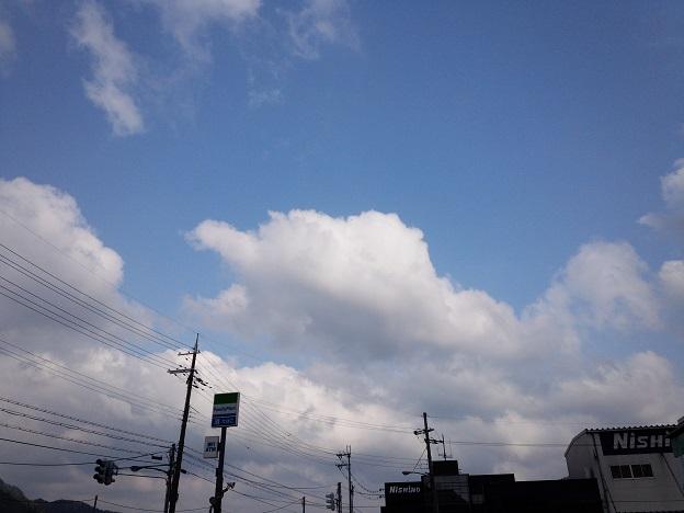 天気は快晴