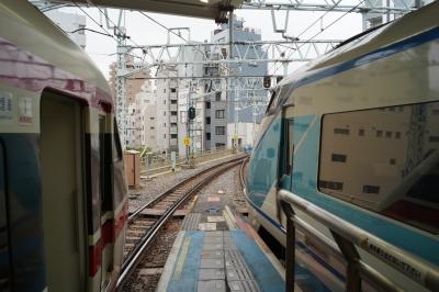 東武浅草駅ホーム