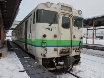キハ40長万部駅
