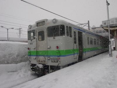 木古内駅キハ40