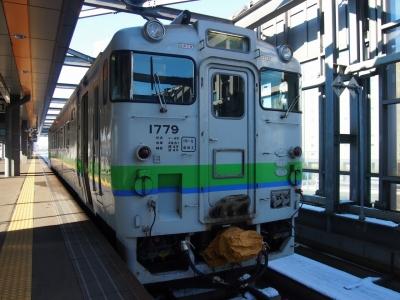 キハ40帯広駅