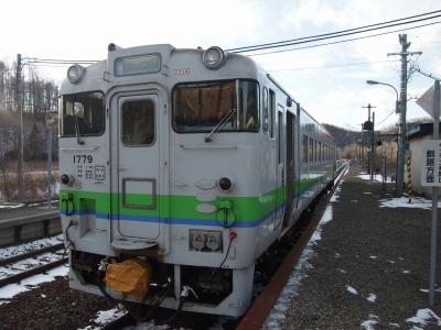 上厚内駅キハ40