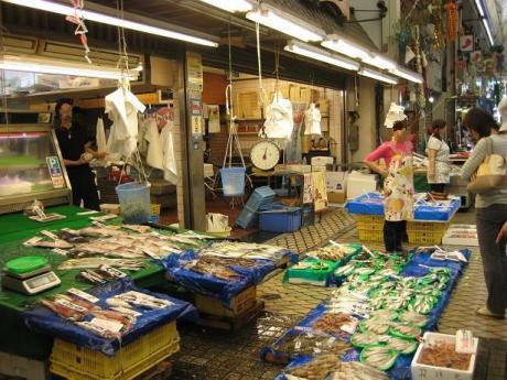 2014年7月2日魚の棚①