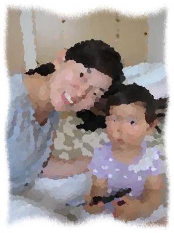 2014年7月16日Oさん親子