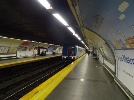 2013年5月51日地下鉄で後ーチャ・レンフェへ
