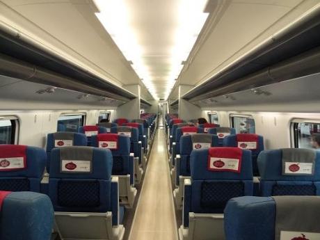 2013年5月31日列車内部