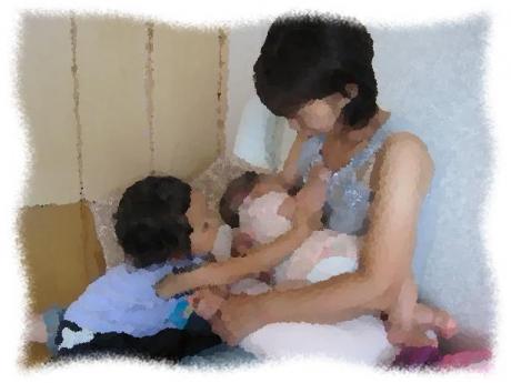 2014年8月8日Fさん親子