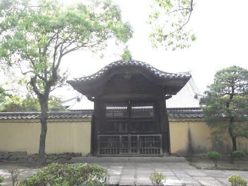 崇福寺8旧名護屋城門