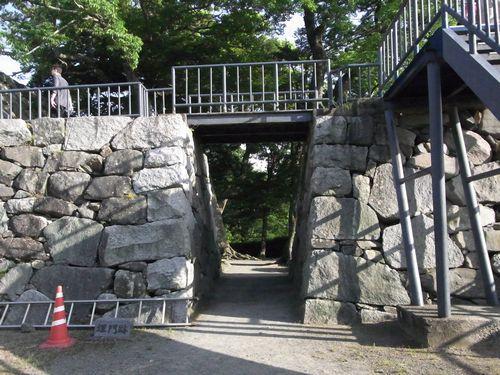福岡城6埋門跡